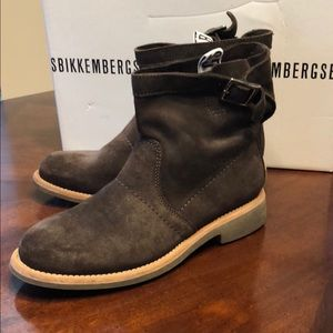 🆕Boho Bekkembergs Brown Suede Ankle Boots US7/37